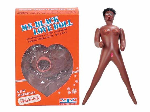 8340S-bx Miss Black Love Doll