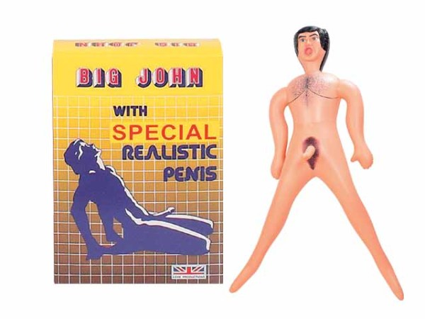8341MD-bx Big John with Realistic Penis