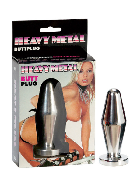 2K184-bx Heavy Metal Butt Plug